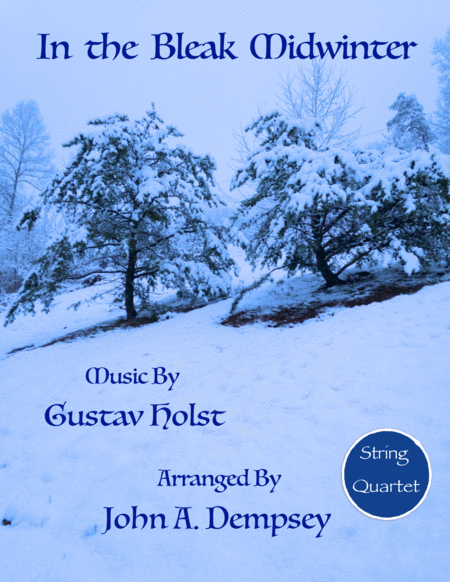 In the Bleak Midwinter (String Quartet)