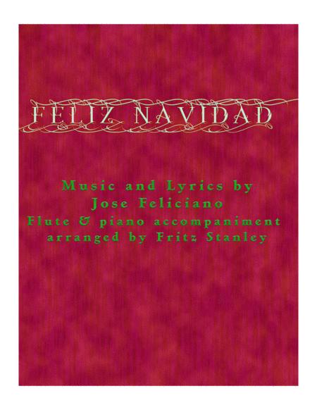 Feliz Navidad - Flute & Piano Accompaniment