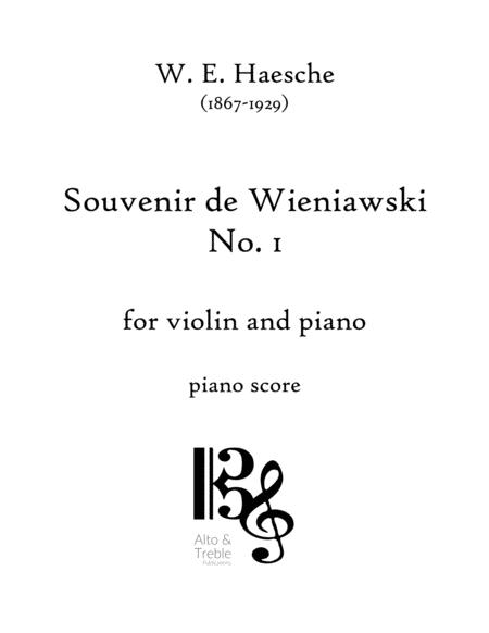 Souvenir de Wieniawski No. 1 for Violin and Piano