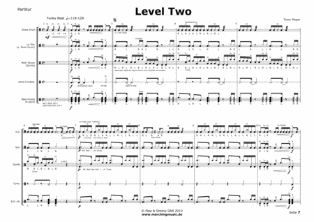 LEVEL TWO (Drumline Feature)