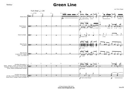 GREEN LINE (Drumline Feature)