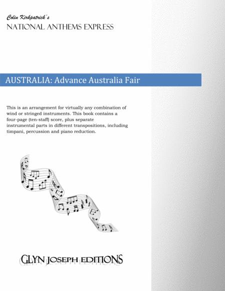 Australia National Anthem: Advance Australia Fair