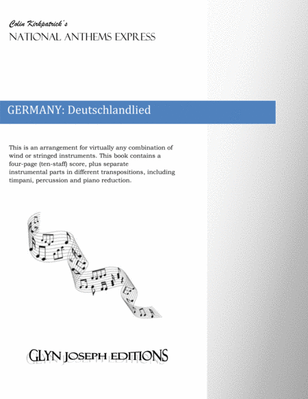 Germany National Anthem: Deutschlandlied