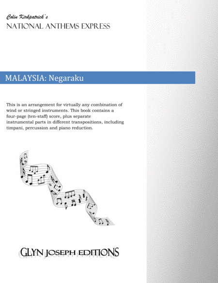 Malaysia National Anthem:  Negaraku (My Country)