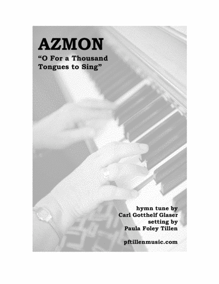 Piano Prelude on AZMON