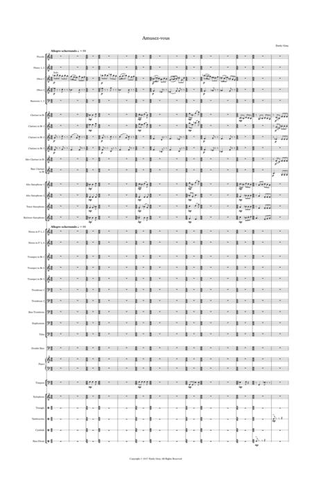 Amusez-vous (Wind Orchestra - Score)