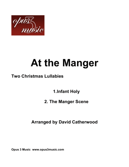 At the Manger - Two Christmas Lullabies