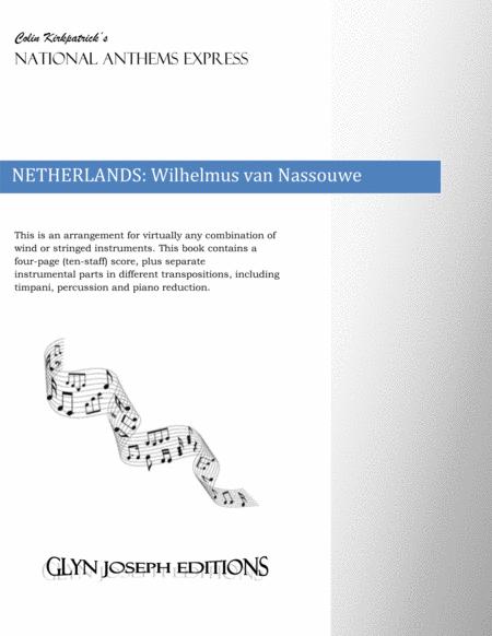 Netherlands National Anthem: Wilhelmus van Nassouwe