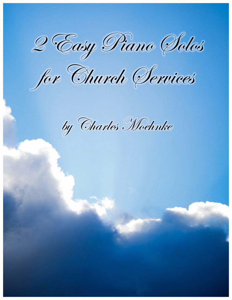 2 Easy Piano Solos for Church Services