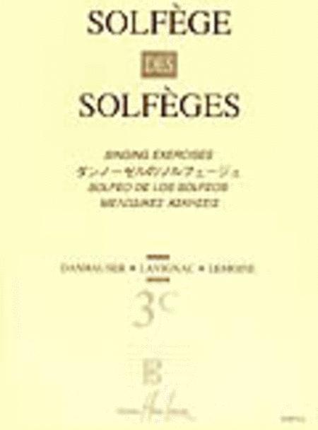 Solfege des Solfeges Vol. 3C sans accompagnement