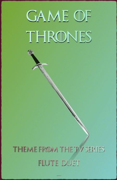 Game Of Thrones Theme, Duet for Flute