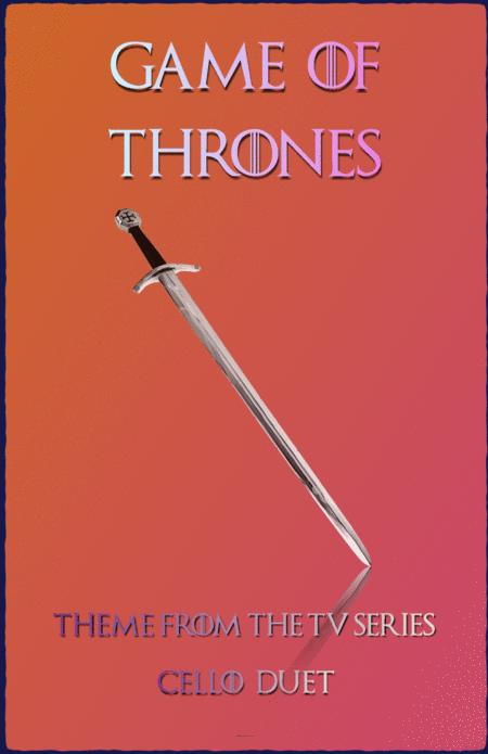 Game Of Thrones Theme, Duet for Cello