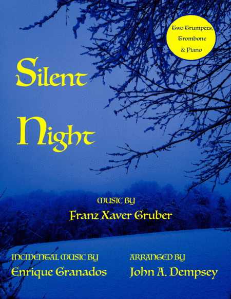Silent Night (Quartet for Two Trumpets, Trombone & Piano)