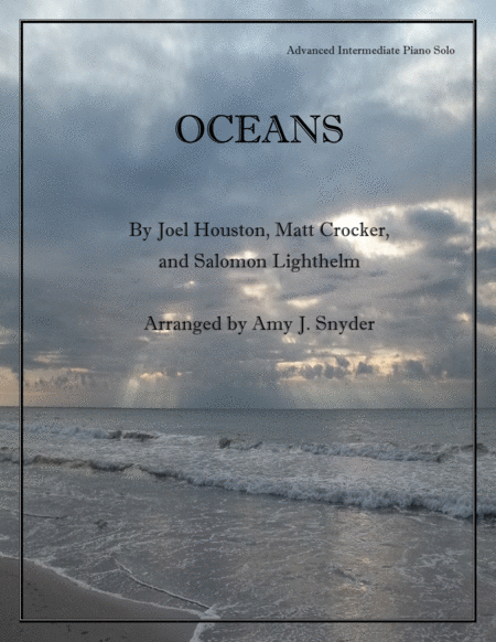 Oceans (Where Feet May Fail), piano solo