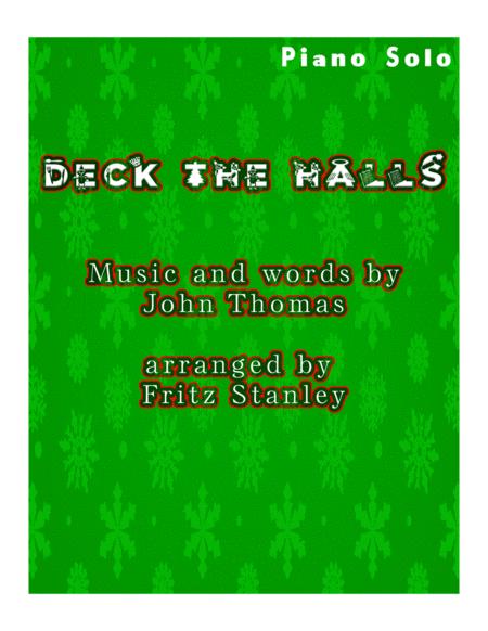 Deck the Halls - Piano Solo