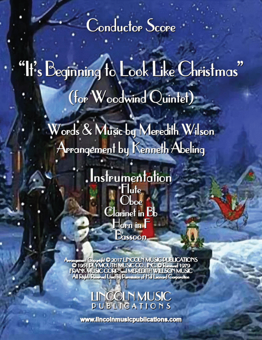 It's Beginning to Look Like Christmas (for Woodwind Quintet)