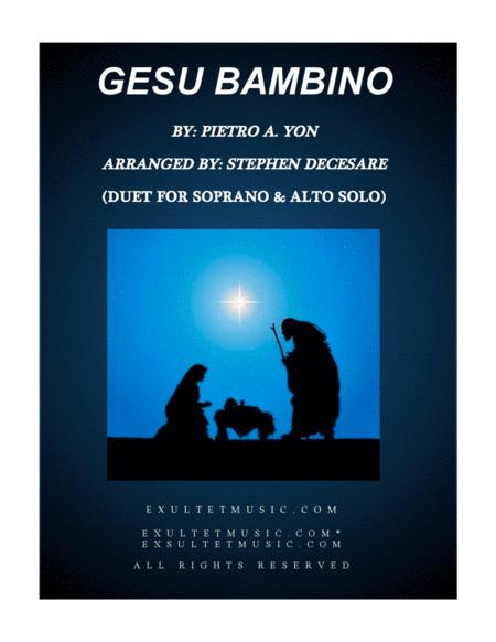 Gesu Bambino (Duet for Soprano and Alto Solo)