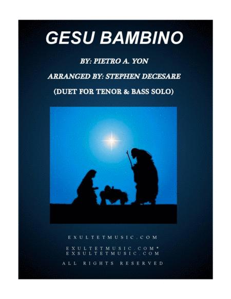 Gesu Bambino (Duet for Tenor and Bass Solo)