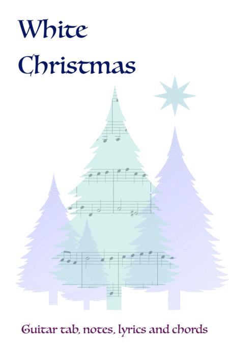 Download White Christmas, Guitar Tab, Notes, Lyrics And ...