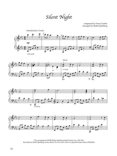 Silent Night - Solo Piano
