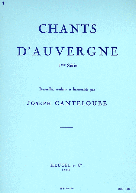 Chants D'auvergne