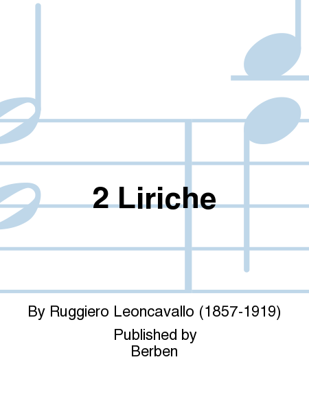 2 Liriche