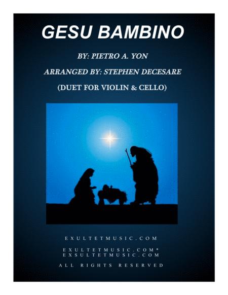 Gesu Bambino (Duet for Violin & Cello)