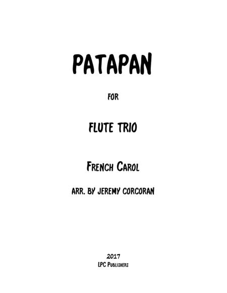 Patapan for Three Flutes