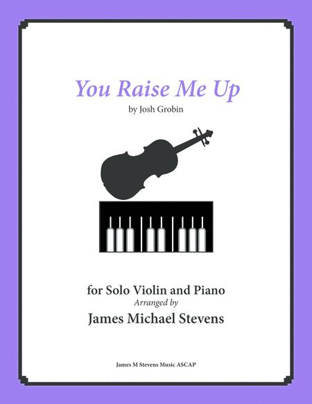 You Raise Me Up - Solo Violin & Piano