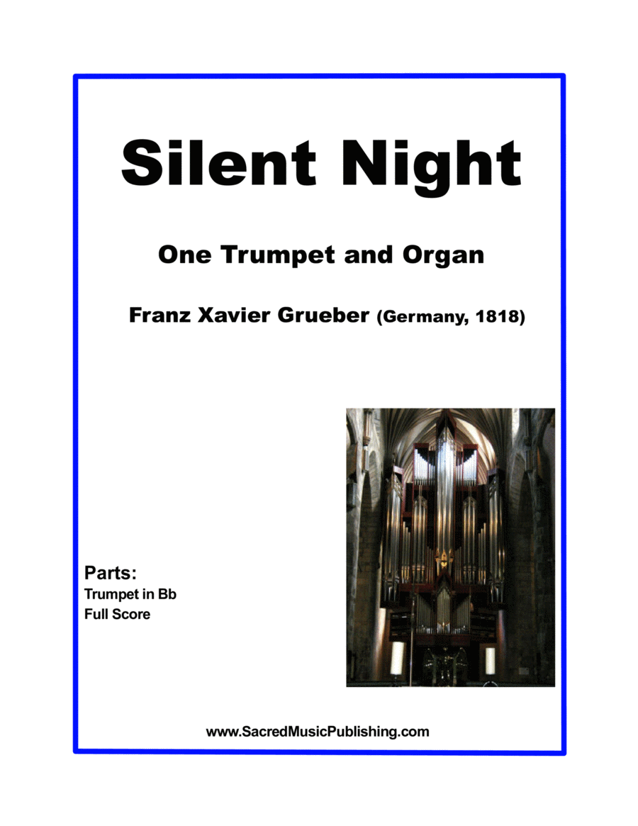 Silent Night -  One Trumpet and Organ