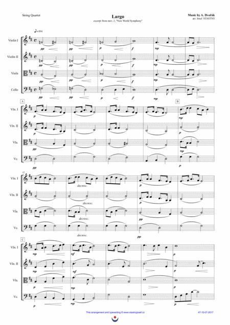 Largo (Dvořák -  New World Symphony)
