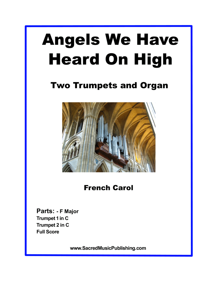 Angels We Have Heard for Two Trumpets and Organ