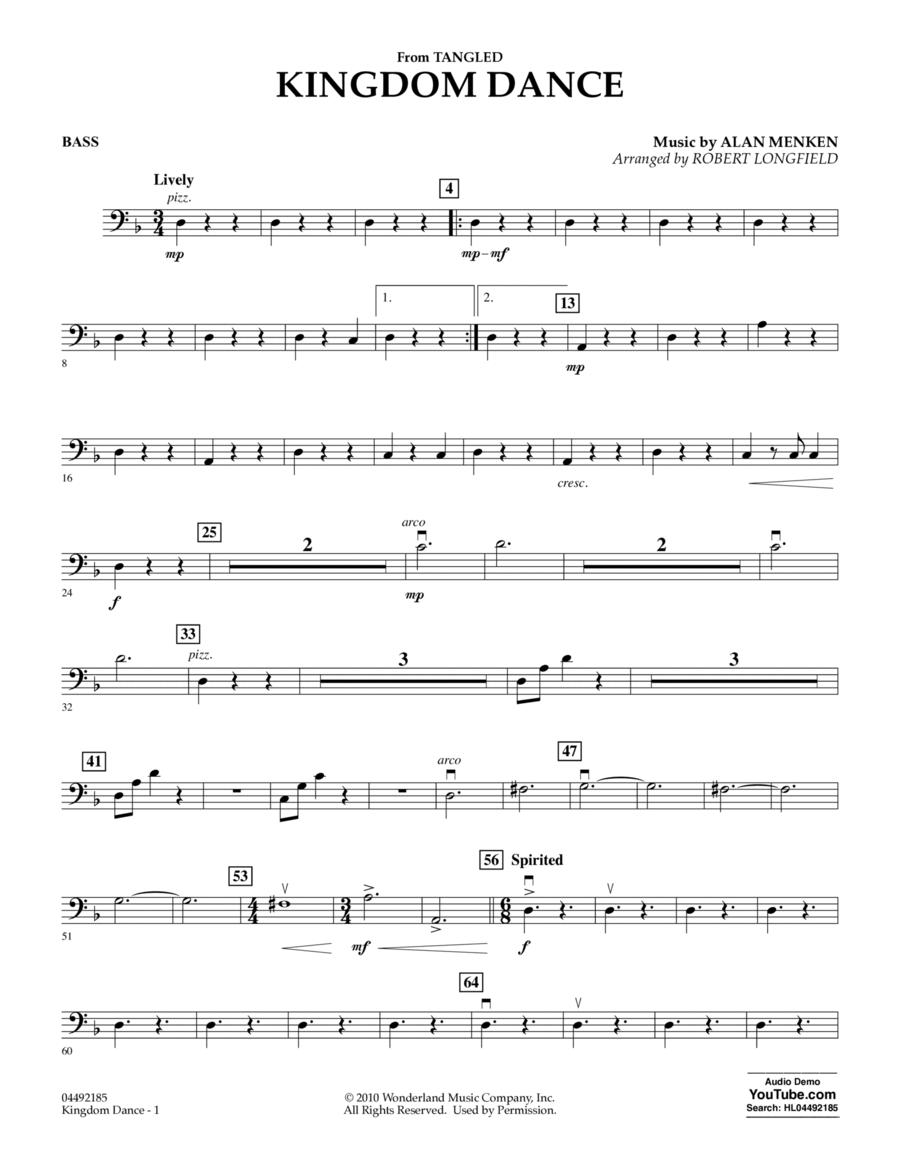 Kingdom Dance (from Tangled) - Bass