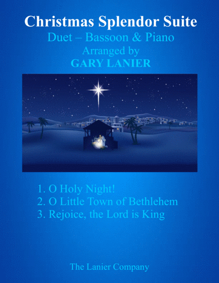 CHRISTMAS SPLENDOR SUITE (Bassoon and Piano with Score & Parts)