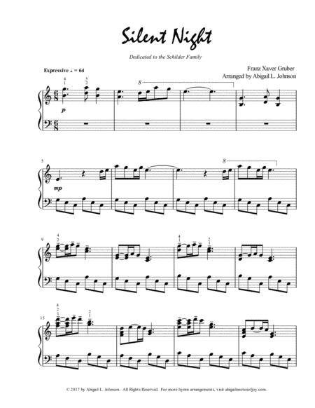 Silent Night (Expressive Piano Solo)