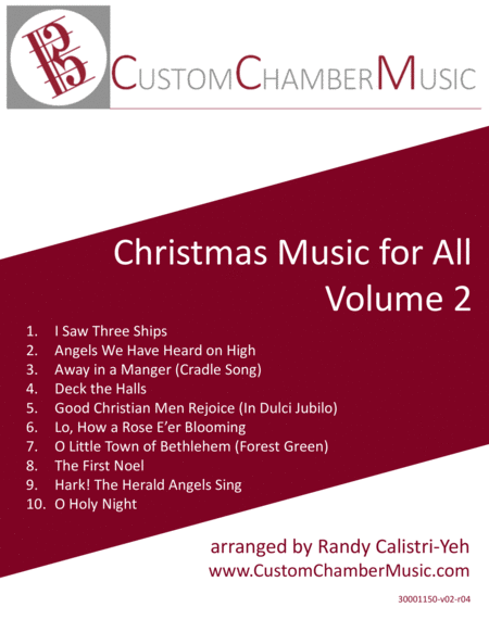 Christmas Carols for All, Volume 2