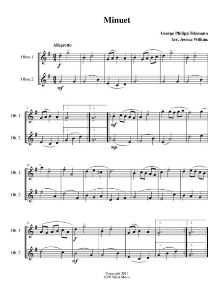 6 Easy Oboe Duets