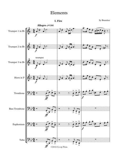Elements for Brass Octet