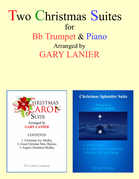 TWO CHRISTMAS SUITES (Bb Trumpet and Piano with Score & Parts)