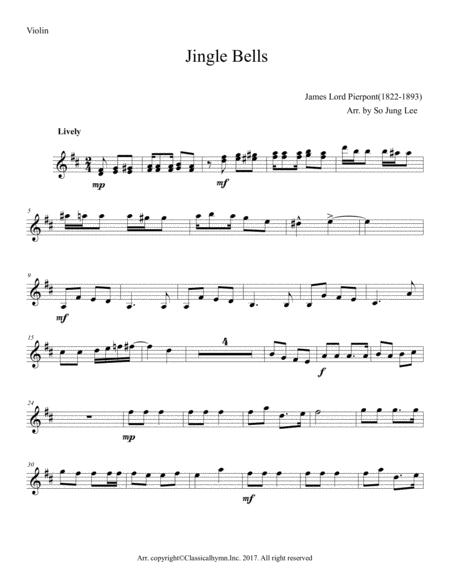 Jingle Bells ( Piano trio: Piano,Violin& Cello)