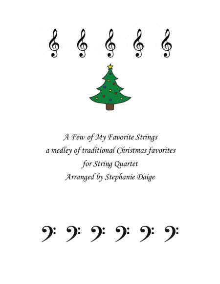 String Quartet Christmas medley