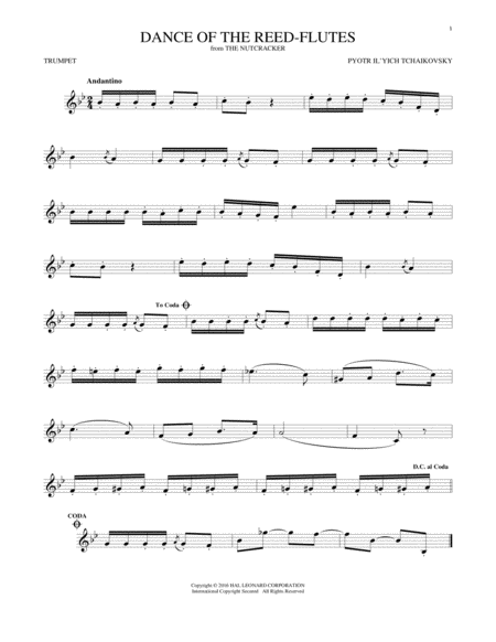 Dance Of The Reed Flutes, Op. 71a