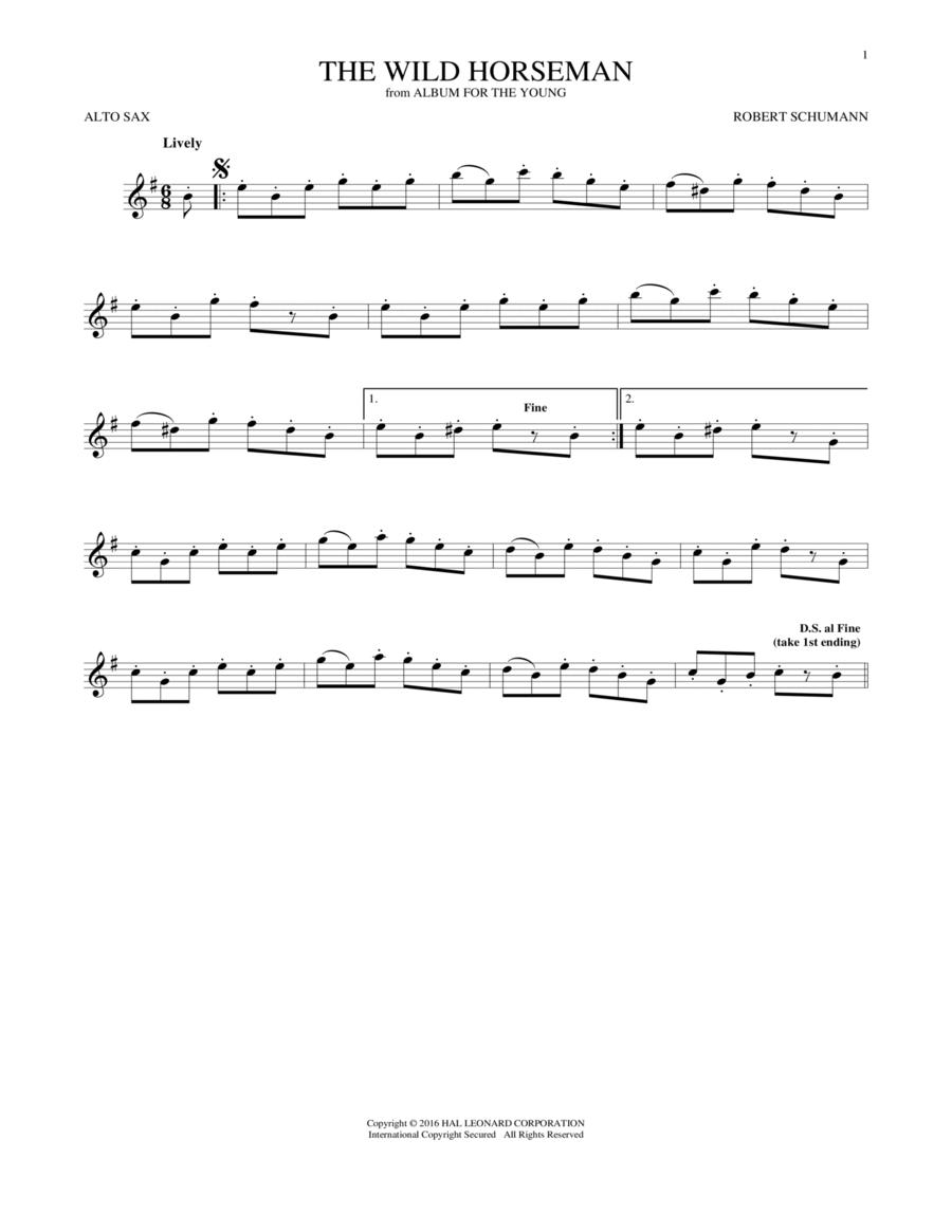 The Wild Horseman (Wilder Reiter), Op. 68, No. 8