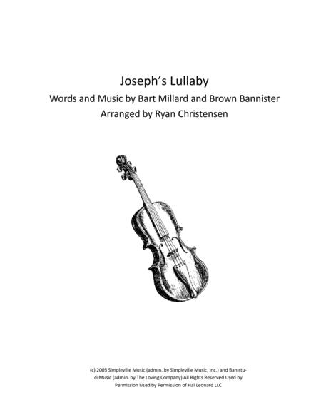 Joseph's Lullaby