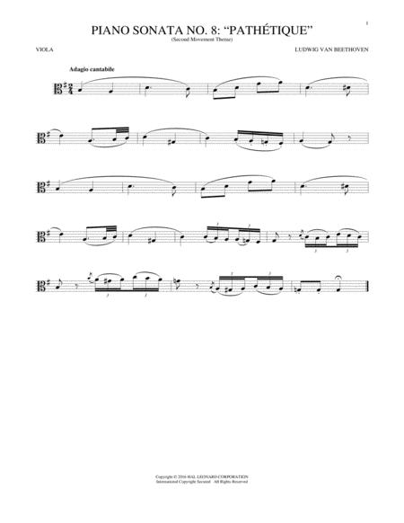 Adagio Cantabile, Op. 13