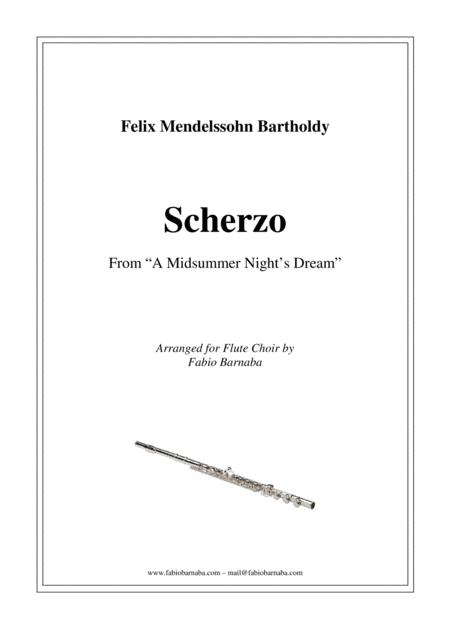 Scherzo from Mendelssohn's