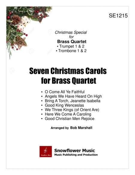Seven Christmas Carols for Brass Quartet