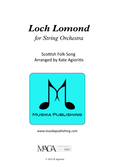 Loch Lomond - for String Orchestra