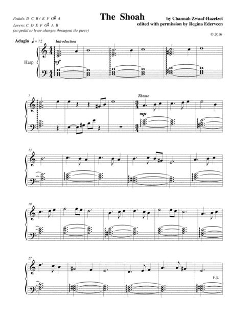 The Shoah - harp solo