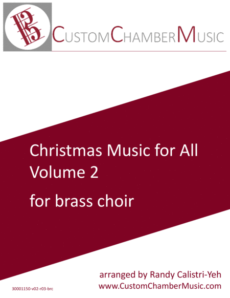 Christmas Carols for All, Volume 2 (for Brass Choir)